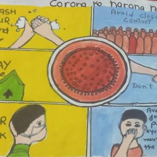Corona ko harana h by Payal lakhwani
