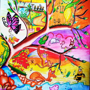 Save environment save nature by Aasthika