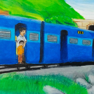 Birthday of Indian Railways by Neel Wavh