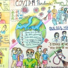 Covid19 Stars by Akshita Tejwani