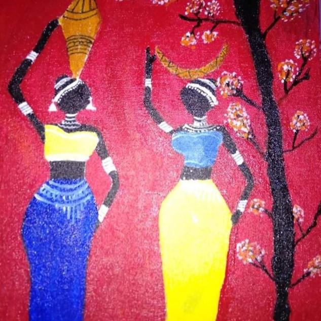 Asian women by Harmeet Kaur