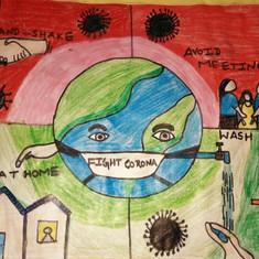 Fight Corona by Nivisha Tolani
