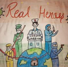 Real Heroes by Lavanya Tolani