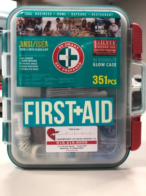 351 Piece First Aid Kit