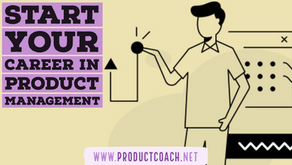 Start your career in product management