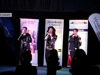 JBK and Bradley Holmes entertain British Filipinos