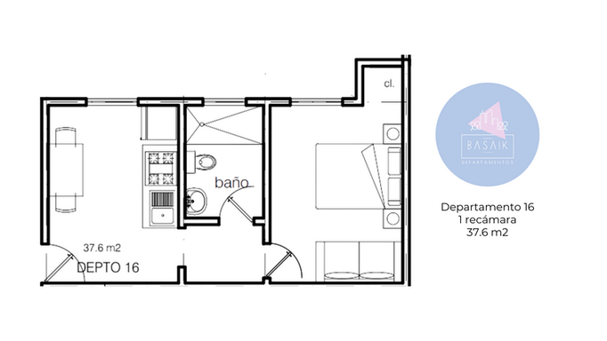 Plano departamento 16