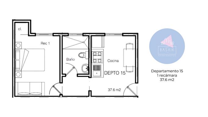 Plano departamento 15
