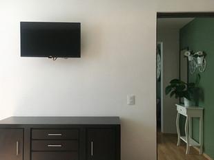 Recamara con TV por cable