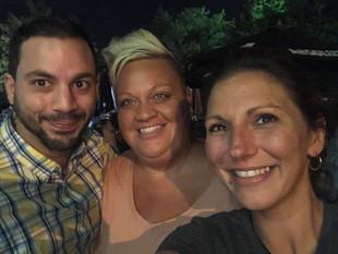 Dave Regnier, Stephanie Markese & Nicole Glenn
