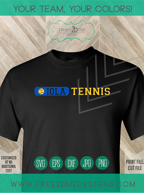 Iola Tennis line
