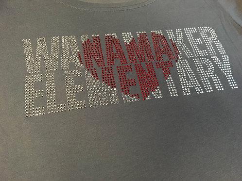 Wanamaker Bling Heart