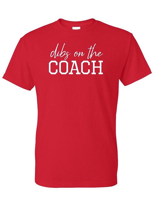 Dibs on the Coach tee