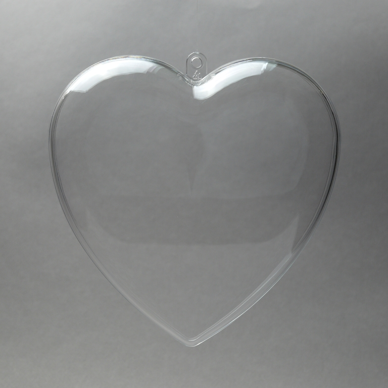 Acryl Herz glasklar