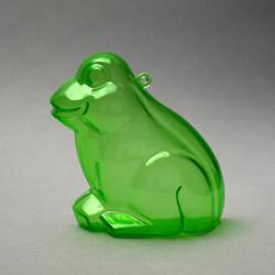 Acryl Frosch grün transparent