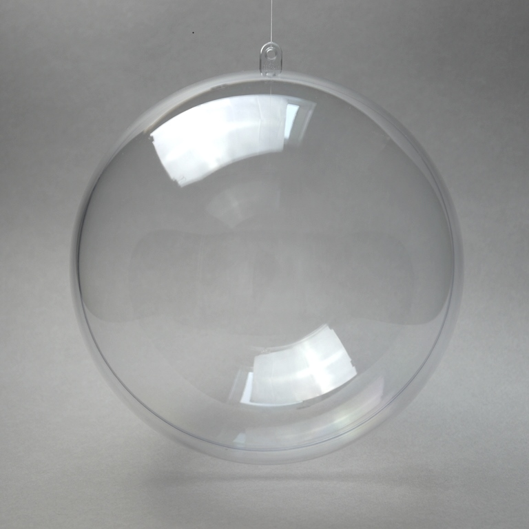 Acryl Kugel glasklar