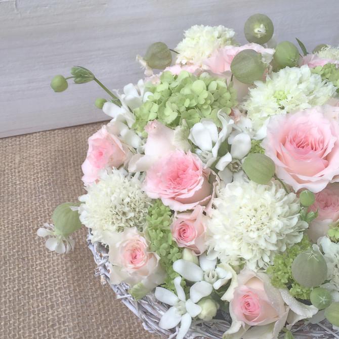 送別会のお花
