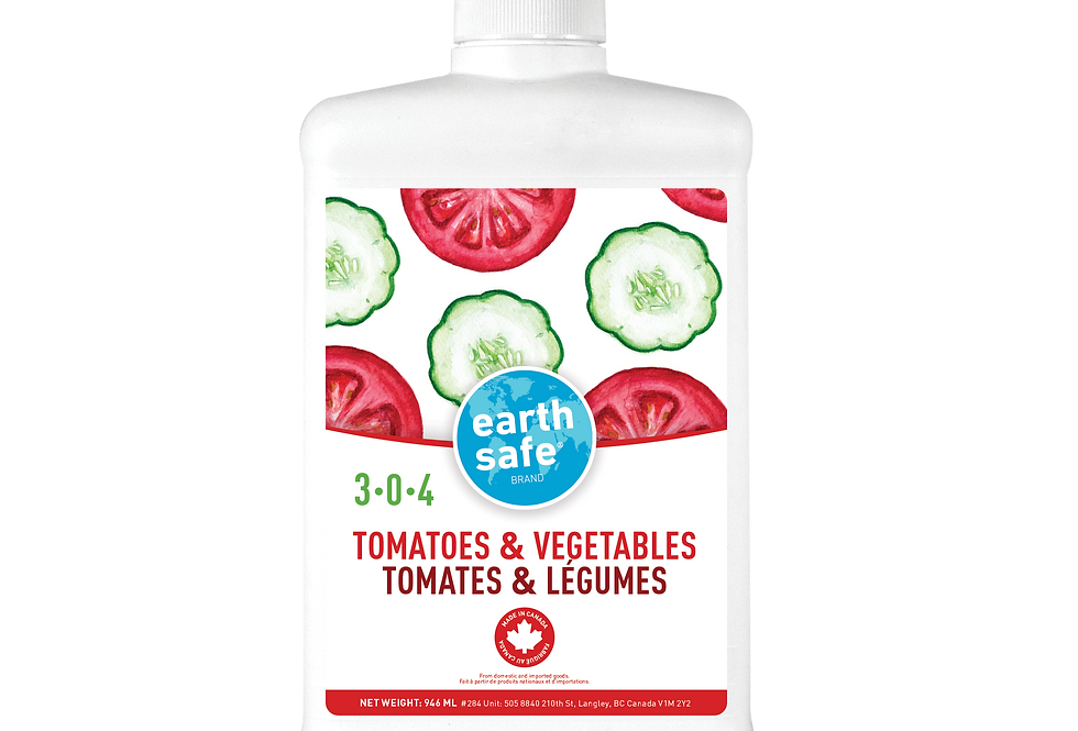 TOMATOES & VEGETABLES 3-0-4