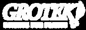 Grotek Logo White