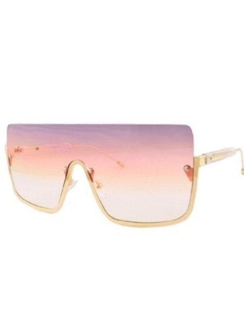 Ombre Oversized Sunglasses