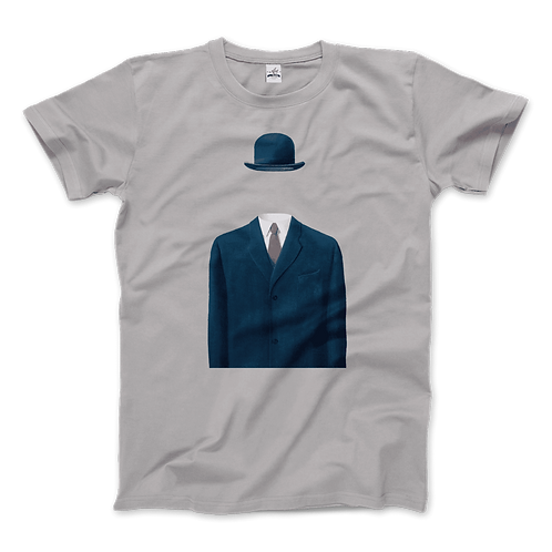 Rene Magritte Man in a Bowler Hat, 1964 Artwork T-Shirt