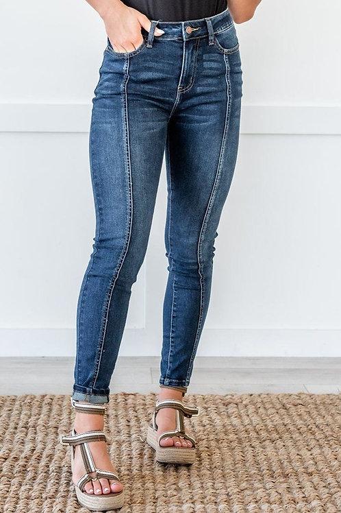 Everywhere We Go Stitch Denim Jeans