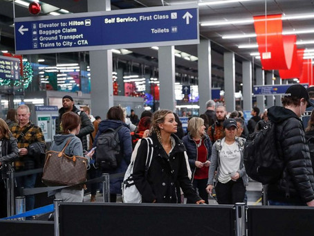 Случаи заражения корью были зафиксированы в 5 аэропортах США