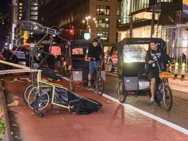 24-летний житель Брайтон Бич, подрабатывающий извозчиком на велорикше, погиб в аварии на Манхеттене