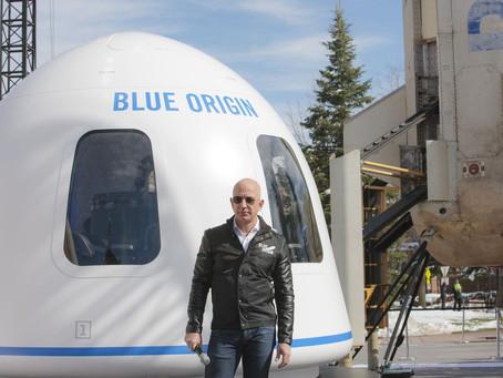Компания Джеффа Безоса разыграет на онлайн-аукционе билет в космос
