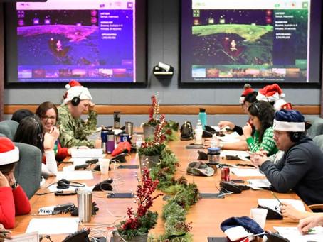 Военные США отслеживают маршрут Санты и отвечают на звонки детей