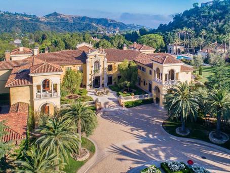 В Калифорнии на аукцион выставлен самый дорогой дом