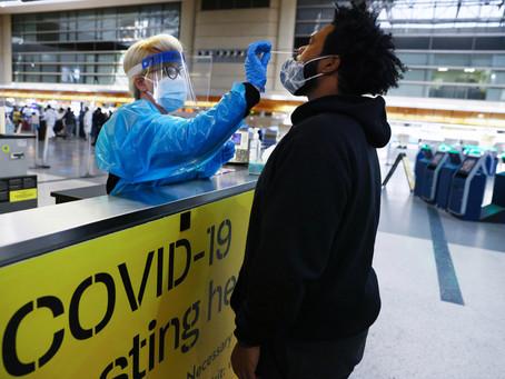 Власти рассматривают введение обязательного тестирования на ковид для пассажиров внутренних рейсов