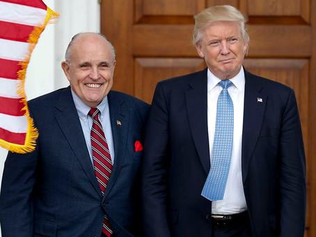 Против Трампа и Джулиани подан федеральный иск о подстрекательстве к мятежу