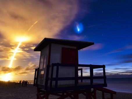 SpaceX вывела на орбиту ещё 58 спутников для раздачи интернета по всей планете