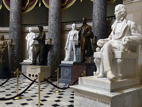 «Защитникам и идеологам рабства… нет места в храме свободы»