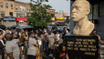 В Нью-Йорке появился памятник Джорджу Флойду