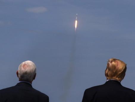 Первый космический пилотируемый полёт SpaceX состоялся