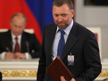 Минфин США обвинил Дерипаску в отмывании денег для Путина