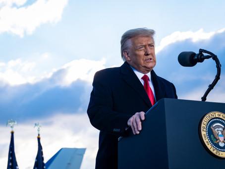Трамп вновь заявил, что движение «Сделать Америку снова великой» только началось