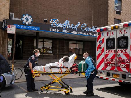 Смертность от COVID-19 в домах престарелых Нью-Йорка была занижена на 50 процентов