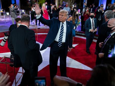 Трамп заявил о согласии на мирную передачу власти при проигрыше