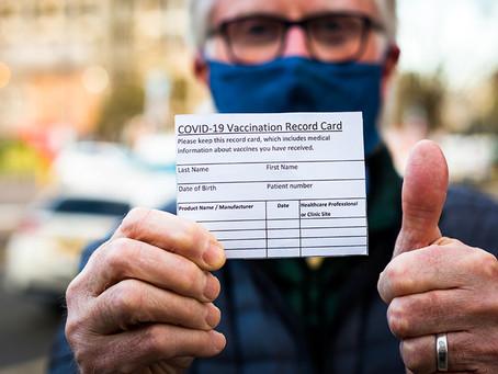 Нью-Йорк становится бесплатным для тех, кто прошёл вакцинацию