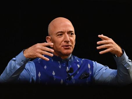 Основатель Amazon Джефф Безос за один день обогатился на 13 миллиардов долларов