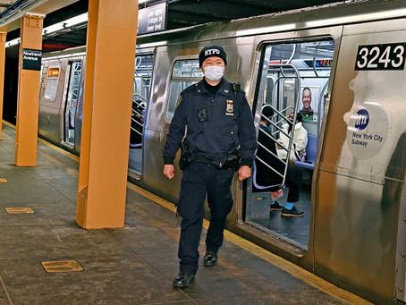 MTA просит утроить число дополнительных полицейских после смертельной бойни в метро