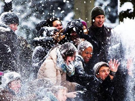 Город Уосо борется с запретом на игру в снежки