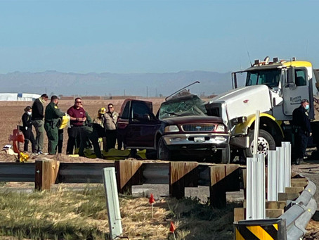 По меньшей мере 15 человек погибли в автокатастрофе на шоссе Калифорнии