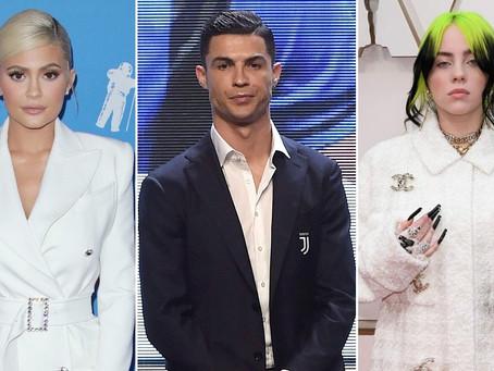 Forbes опубликовал рейтинг 100 самых богатых знаменитостей