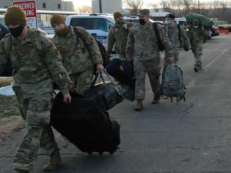 Войска Национальной гвардии в Вашингтоне  получили разрешение на применение «смертоносной силы»