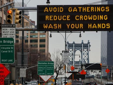 Власти Нью-Йорка грозят «уголовным преследованием» за несоблюдение карантина