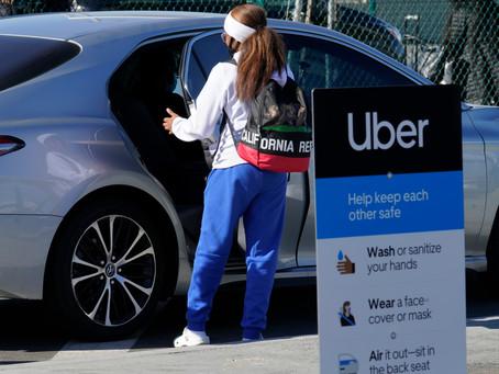 Uber и Lyft будут бесплатно возить жителей США на вакцинацию против COVID-19